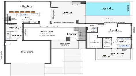 beach house layouts modern house concrete floor modern beach house floor plans