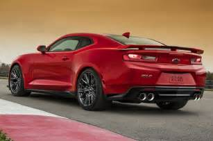 2017 chevrolet camaro zl1 specifications equipment
