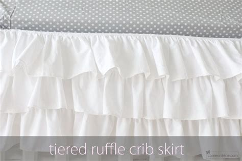 Crib Ruffle Skirt Pattern by 458 Best Images About Future Baby Blue On