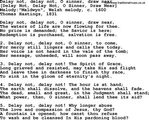 lyrics delays american song lyrics for delay not delay not o