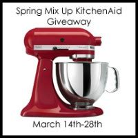 enter the mix up your kitchen sweepstakes spring mix up kitchenaid mixer giveaway ends 3 28