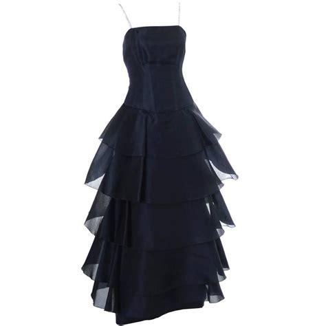 isogawa silk vintage dress ruffles rhinestones