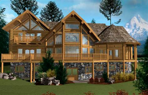 large log cabin home floor plans custom log homes log blue ridge log home floor plan caribou creek timber bestofhouse net 38992
