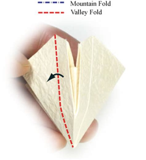 What Is A Valley Fold In Origami - how to make an origami of the valley page 9