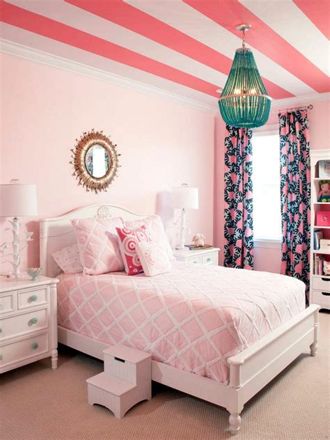 pretty girls room pretty in pink girls rooms hgtv