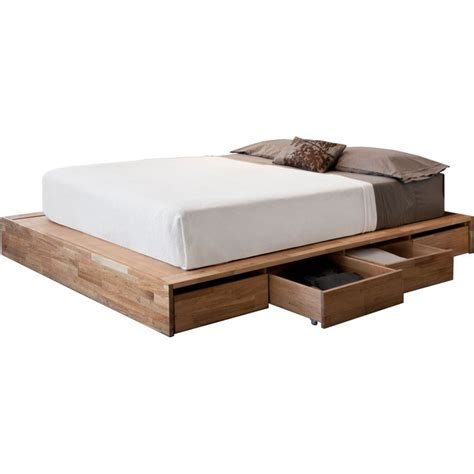 High Platform Bed Bedroom Barn Wooden Size Platform Bed With Storage As Well As White Size Mattress In