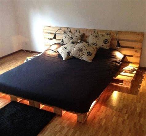 cama con estibas muebles con palets 10 ideas para hacer en casa