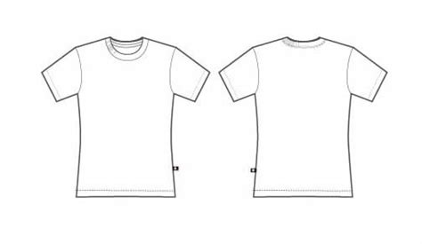 create a t shirt template design a tshirt template clipart best