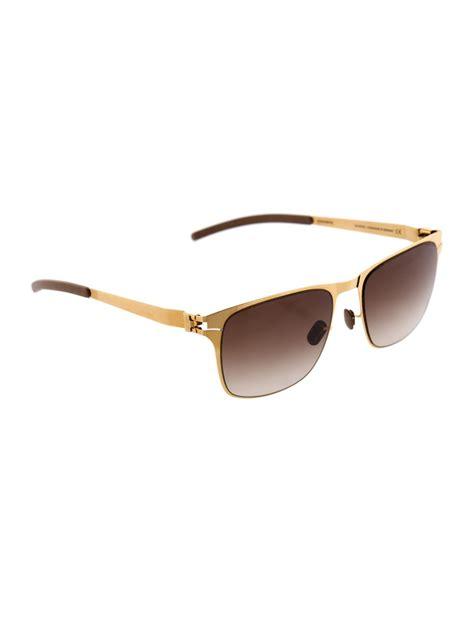 Oakley Ok903l Brown Stainless mykita kubick stainless steel sunglasses in metallic for lyst