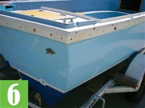 boat rub rail sealant rub rail your boat the right way boating world