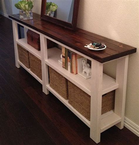 sofa table with storage best 25 sofa tables ideas on hallway tables