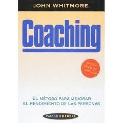 libro coaching el mtodo coaching el metodo para mejorar el rendimiento de las personas un libro interesante para