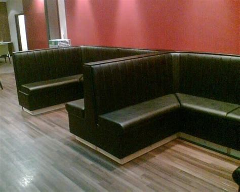 leather banquette bench 17 best images about vip booth and bar on pinterest