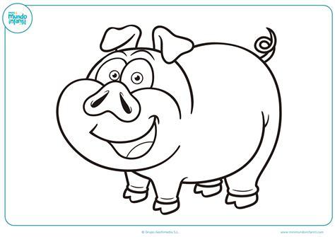 imagenes para colorear animales de la granja dibujos de animales de granja para colorear mundo primaria