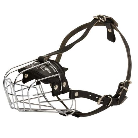 basket muzzle comfortable wire cage muzzle for rottweiler walking and rottweiler store