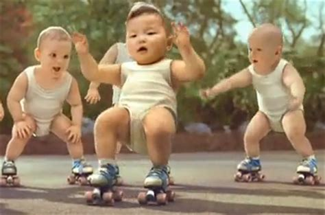 by evian known as babies on skates improperly since the babies evian babies print ads pics