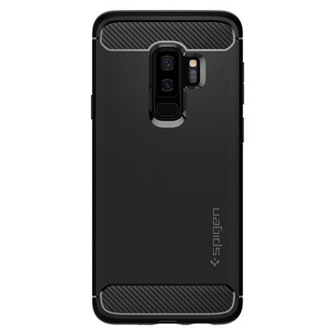 Original Spigen Rugged Armor Galaxy S9 Black galaxy s9 plus rugged armor spigen inc