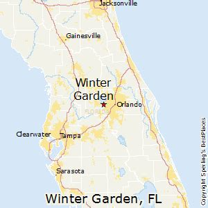 Winter Garden Florida Map by Best Places To Live In Winter Garden Florida