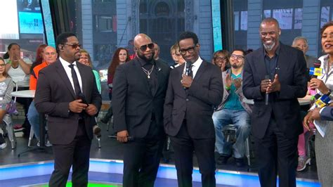 new guys on gma boyz ii men videos at abc news video archive at abcnews com