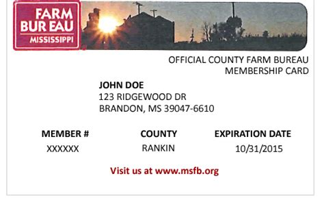 Locating your Membership Number   Mississippi Farm Bureau