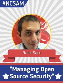 managing open source security with rami sass