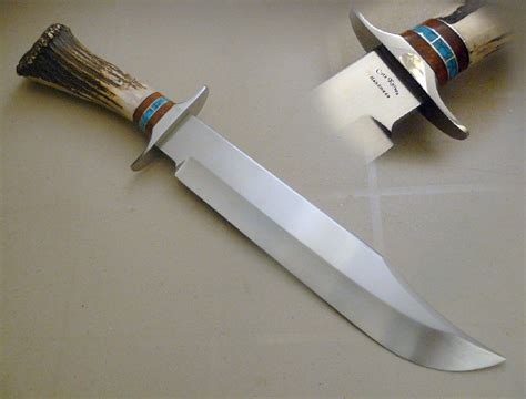 custom made bowie knives made bowie knife by cote custom knives custommade