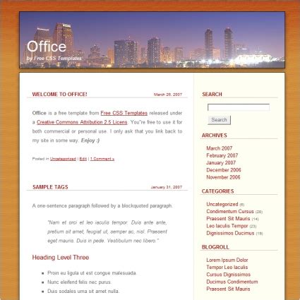 Office Free Website Templates In Css Html Js Format For Free Download 62 96kb Office Website Templates