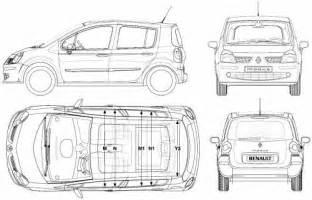 Renault Modus Dimensions Renault Modus 2006