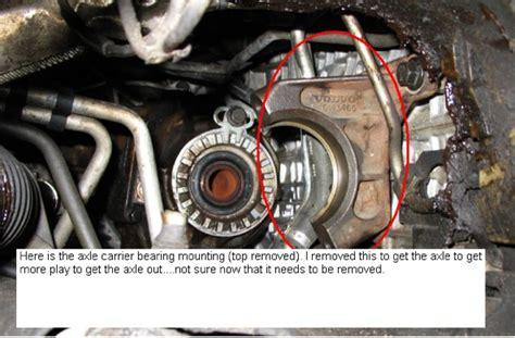 front driveshaft removal  xc volvo forums