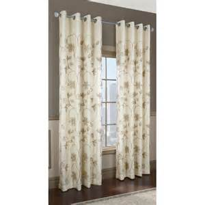 Lowes Kitchen Curtains Commonwealth Home Fashions Kalida Grommet Curtain Panel Lowe S Canada