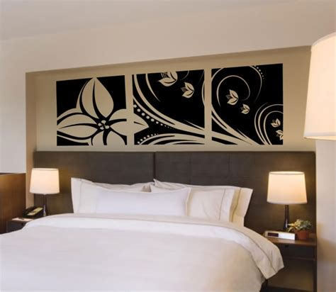 wall stickers decor modern decals by digiflare flower leaves modern wall decal