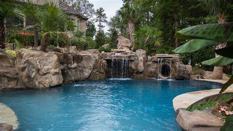 decoracion de piscinas y jardines decoraci 243 n jardines con piscina con cascadas y rocas