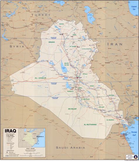 map for iraq iraq maps perry casta 241 eda map collection ut library