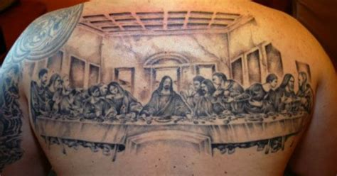 last supper tattoo design last supper inked tatting