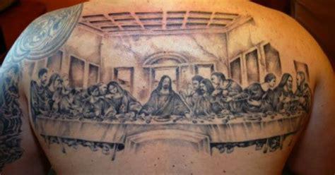 last supper tattoo design last supper inked tatting