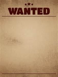 template for a wanted poster how to create and use wanted posters for different goals
