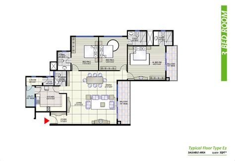 prestige shantiniketan floor plan 3bhk apartment for rent in whitefield bangalore at