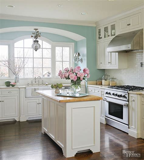 cottage kitchen colors before and after kitchen makeovers tile paint colours
