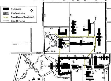 oregon state hospital map tunnel system oregon state hospital historic district