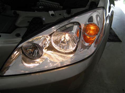 Pontiac G6 Headlight Replacement by Gm Pontiac G6 Gt Headlight Bulbs Replacement Guide 045
