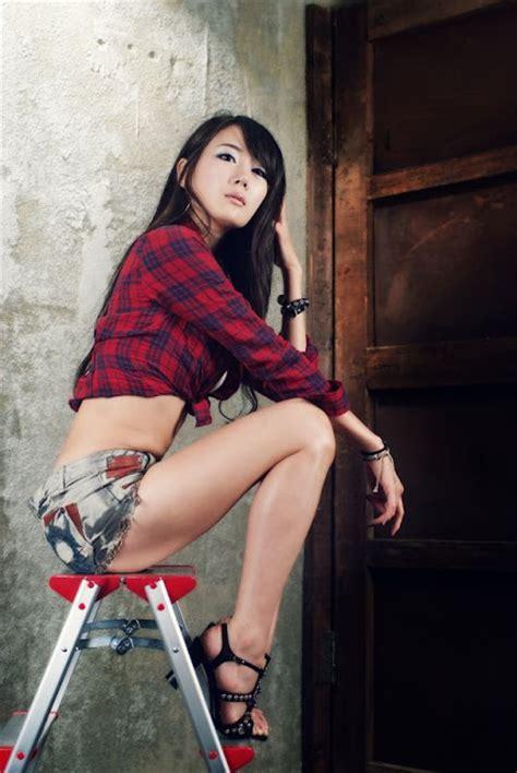 photos korean hot model han chae i korean models photos gallery