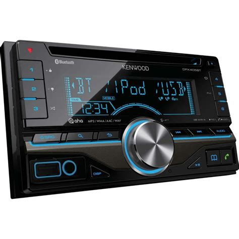 car radio kenwood dpx 405bt double din car stereo with built in blueto