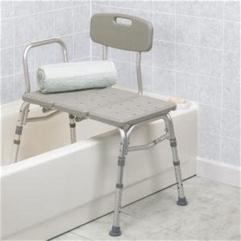how to use a shower transfer bench amazon com plastic tub transfer bench with adjustable