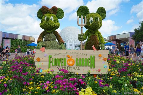 2015 epcot international flower and garden festival opening day tour photo 23 of 74