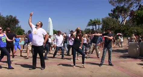 san diego west coast swing international flashmob west coast swing 2016 wcs flashmobs