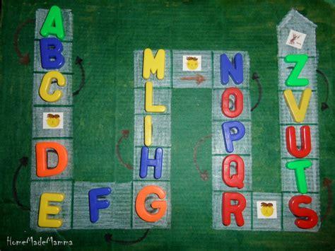 gioco delle lettere il gioco dell oca per imparare l alfabeto