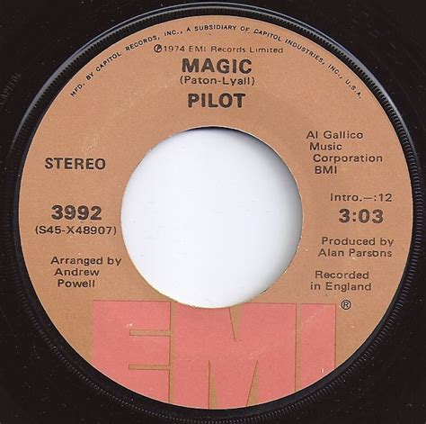 magic pilot 17 best images about 45 rpm vinyl records 1975 on