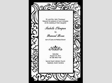 Black White White And Templates Invitations Mick And Black Mouse 7