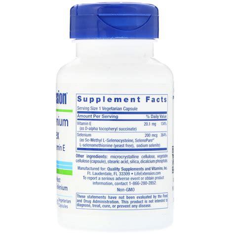 Extension Selenium Complex 100 Caps extension selenium complex 100 vegetarian capsules iherb