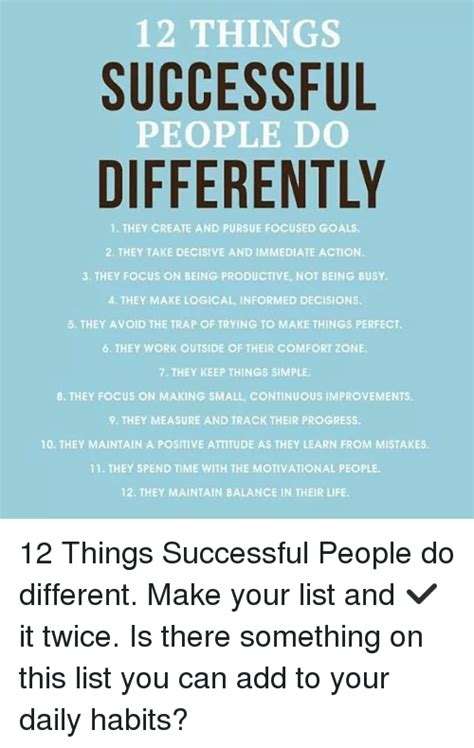 8 things people would do differently if building their house again 12 things successful people do differently 1 they create